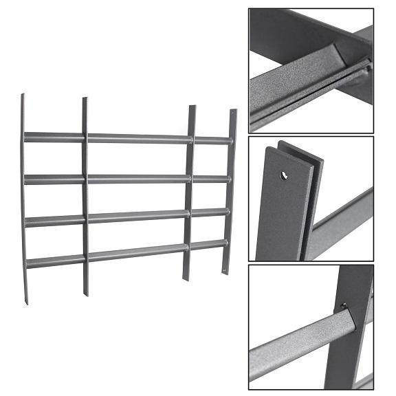 Stahl fenstergitter protect gitter einbruchschutz - Gitter fenster einbruchschutz ...