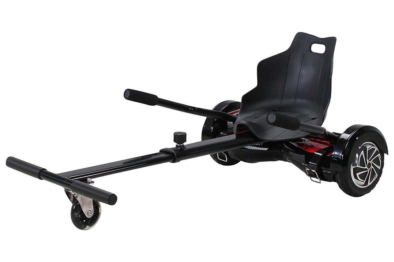 hoverkart racer hoverboard self balance e scooter sedile. Black Bedroom Furniture Sets. Home Design Ideas